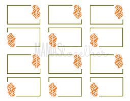 mamas together thanksgiving place card printables diy placemat