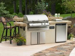 outdoor kitchen island kits charcoal vs gas outdoor grills hgtv