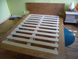 Build A Platform Bed Frame Plans by How To Build A Case Study Inspired Bed Mid Century Modern