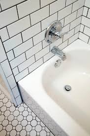 grouting bathtub tile exle of dark grout bathroom update pinterest grout dark