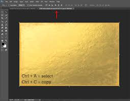 sm editorial create gold foil text in photoshop