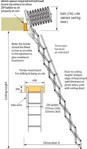 Standard Handrail Height Uk Retractable Zip Ladder U0026 Foldable Stairs Up To 3390mm