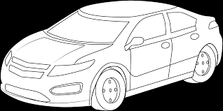 car drawing car line drawing clip art 40