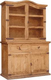 Hutch Buffet by Rustic Pine Hutch U0026 Buffet Rustic Buffet And Mexican Hutch U0026 Buffet