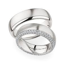 christian bauer wedding bands christian bauer wedding rings 18 carat white gold 48 brilliants