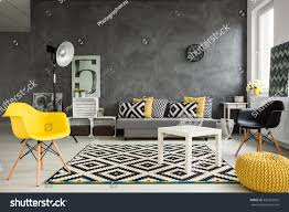 Grey Living Rooms by Grey Living Room Sofa Chairs Standing Stock Photo 398322925