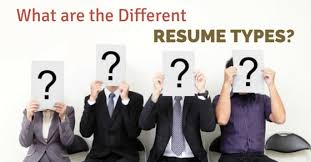 3 Types Of Resumes Different Resume Types Different Types Of Resume Styles Resume