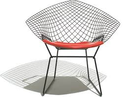 fancy bertoia diamond chair on home design ideas with bertoia