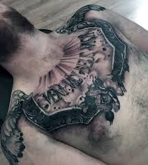 small collar bone tattoos for men pictures to pin on pinterest