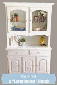 diy dated hutch makeover this lists what steps were taken and