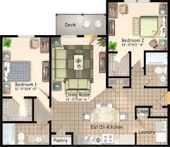 layout floor plan on fourth heights apartments