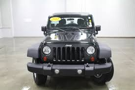 jeep wrangler 4 door silver jeep wrangler unlimited sport in iowa for sale used cars on