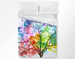 Etsy Bedding Duvet Twin Owl Bedding Etsy Home Beds Decoration
