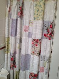 Shower Curtain Pattern Ideas Patchwork Shower Curtain Do In Cotton From Sheets And