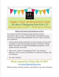 thanksgiving by the numbers family fest u2014 utah hemophilia foundation