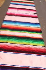 Mexican Table Runner Acrylic Striped Table Runners Ebay