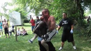 violent street thug beats the daylights out of bjj artist in