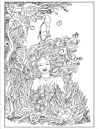 art nouveau coloring pages s mac u0027s place to be