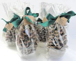 Pine Cone Wedding Table Decorations 100 Pine Cone Fire Starter Winter Wedding Favors Table