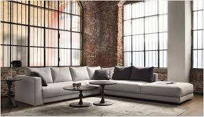 Modern Single Leather Sofas Interior Modern Couches Corner Sofa Industrial Style Mid Century