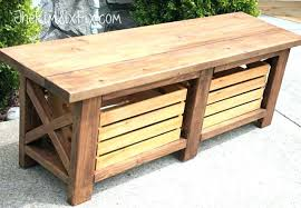 outdoor storage bench diy outdoor storage bench seat wood 120 gal