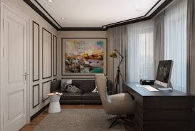 Modern And Classic Interior Design Modern Classic Interior Design Home Office Designs On Behance