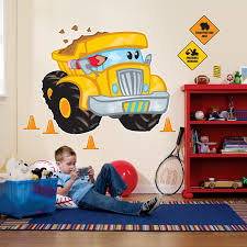 construction pals giant wall decals birthdayexpress com construction pals giant wall decals