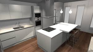Kitchen Breakfast Island by Modern Kitchen Island With Ceramic Hob And Breakfast Bar U2013 Trends