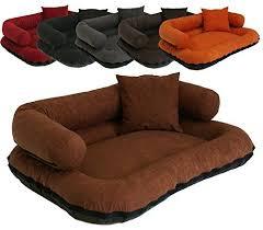 canapé lit pour chien leo4dog canapé alova panier pour chien différent tailles