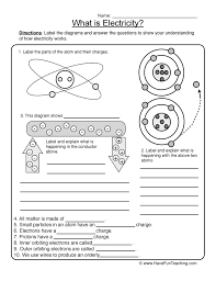 physical science worksheet have fun teaching