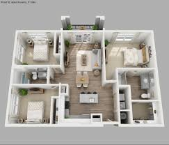 small house plans 3 bedrooms 3d u2022 small bedroom decor