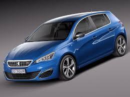 3d Model Peugeot 308 Gt 2015 At 3dexport Com Youtube