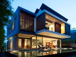 two storey house modern two storey house sentosa cove by ong ong architects