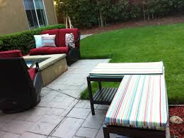 outdoor bench seat cushions home design ideas and pictures