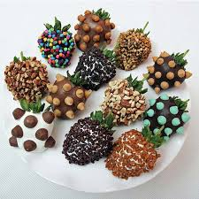fruit delivery company chocolate dipped strawberries box bundle edible arrangements