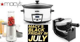 black friday slow cooker macy u0027s com 9 99 small appliances after new rebate u2013 hip2save