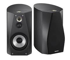 sony home theater subwoofer sony ss ha3 b hi res bookshelf speakers pair audio speakers