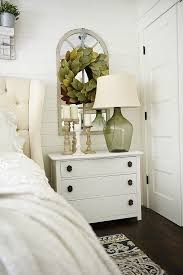 bedroom end table decor cottage style nightstands 18