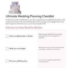 simple wedding planner 11 free printable checklists for your wedding timeline