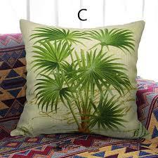 ou jeter un canapé vert oreillers cocotier jeter pour la conception de coussins de