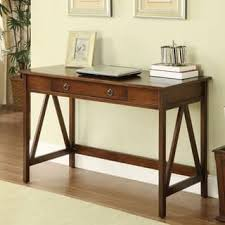 brown desks u0026 computer tables for less overstock com