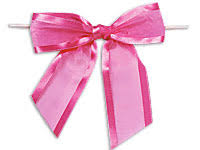 pre bows white pre sheer organza bows
