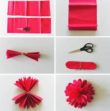 Cara Membuat Bunga Dengan Kertas Hias | cara membuat aneka bunga unik dari kertas krep sarungpreneur