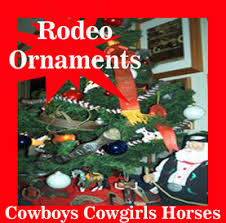 rodeo ornaments western cowboy