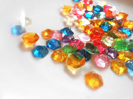 edible jewels legend of party candy gem edible rupees sugar jewels