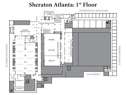 Ellis Park Floor Plan by A Geek Saga Dragon Con Maps Edition