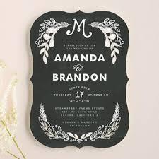 chalkboard wedding invitations chalkboard wedding invitations by alethea and ruth minted