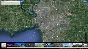Satellite Map Of Usa by Buffalo New York Map
