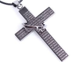 cross locket necklace images New love jesus christian scripture necklace titanium floating jpg