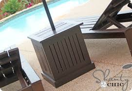 Patio Umbrella Stand Side Table Patio Umbrella Stand Side Table All For The Garden House